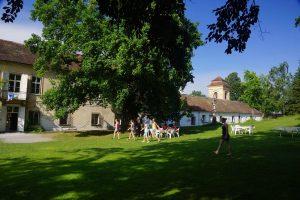 Schloss Wetzlas - Osttrakt mit astronomischen Turm
