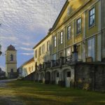 Schloss Wetzlas  mit Blick auf Osttrakt und dem  astronomischen Turm