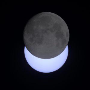 Der geblitzte Mond